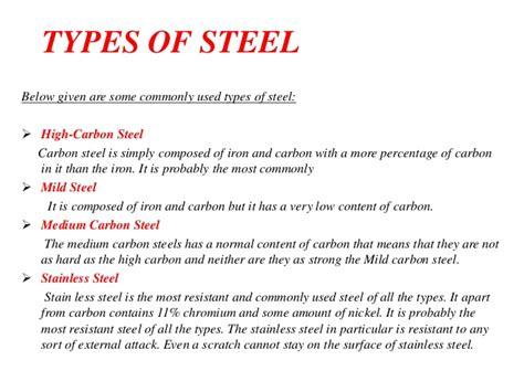 stell type steel