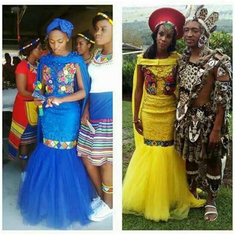 Traditional Wedding Attire Zulu by Modern Zulu Weddings