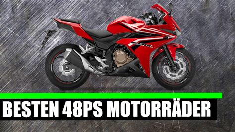 Motorrad A2 Auf A by Top 7 48ps Motorr 196 Der A2 2017
