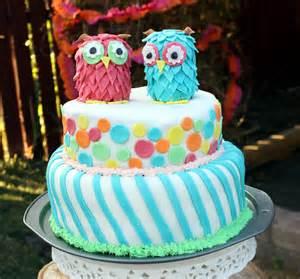 Birthday Cake Ideas Amazing Owl Birthday Bless This Mess
