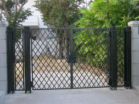 Modern Wrought Iron Gates And Fences Wrought Iron Gate