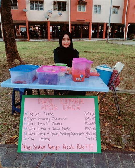 penjual makanan menarik  menawan malaysia  viral