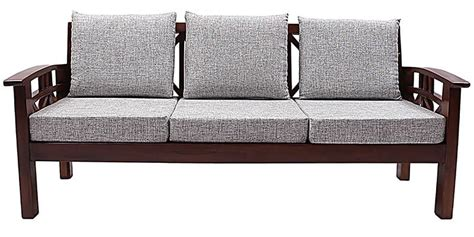 different sofa designs buy mariana teak wood sofa set 3 seater 1 seater 1