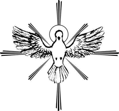 imagenes en blanco y negro del espiritu santo esp 237 rito santo pomba da paz esbo 231 o 183 gr 225 fico vetorial