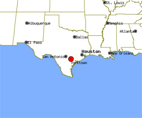 yorktown texas map yorktown profile yorktown tx population crime map