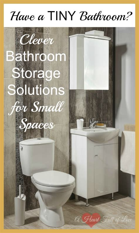 ideas for a bathroom clever storage ideas for small bathrooms a of