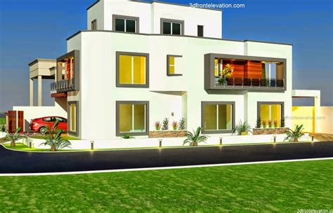 10 marla plot home design 3d front elevation 10 marla plot modern contemporary house design in bahria town islamabad