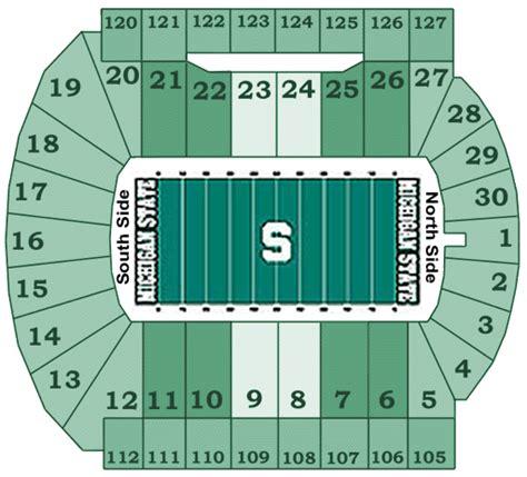 michigan state football stadium seating capacity michigan state spartans 2013 football schedule