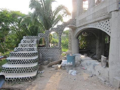 Most Popular House Plans building belize s first earthship alongside the mayan
