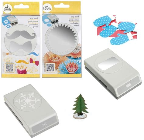 Large Paper Punches For Card - ek success tools large paper shaper punch scrapbook card