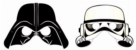 printable star wars helmet star wars free printable masks oh my fiesta in english