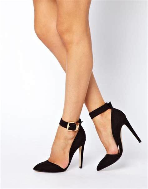 asos high heels asos photoshoot pointed high heels in black lyst