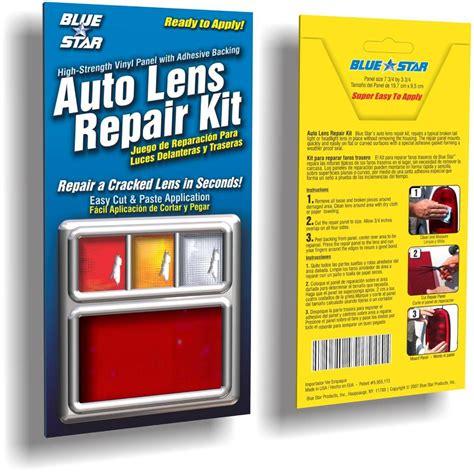 Light Repair Kit Red Auto Lens Repair Kit Quick Fix Cracked Broken Tail