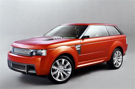 range rover coupe land rover design hints at 2 door range rover coupe