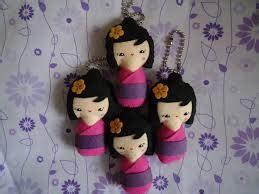 Kokeshi Doll Boneka Jepang Boneka Kayu Hiasan Souvenir Pajangan kokeshi boneka jepang yang menawan mila felt lover