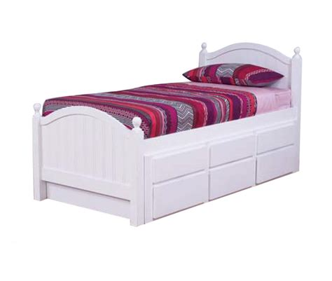 captains bed kelly king single captain bed with trundle drawers