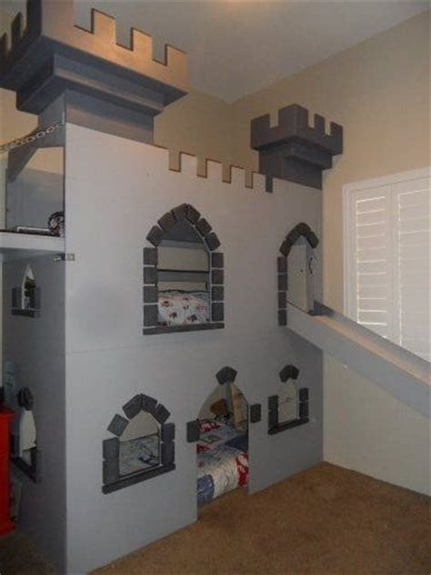 Boys Castle Bunk Bed Amazing Custom Castle Bed Bunkbed Playhouse