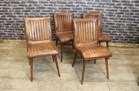 retro dining chairs retro style leather dining chair