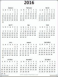 printable calendar victoria 2016 free printable 2016 calendar on one page google search