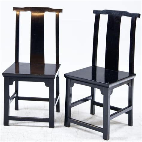 set   black lacquered japanese style dining room
