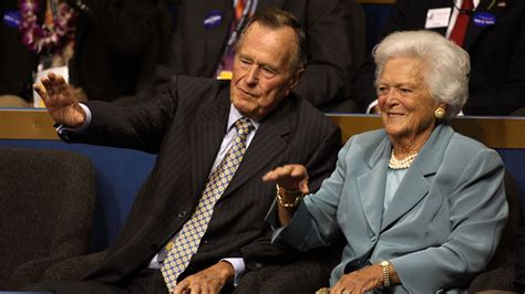 Barbara Bush Gets Robbed by Former President George H W Bush Barbara Bush Hospitalized