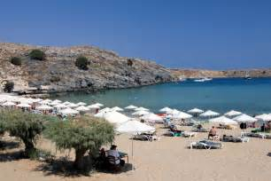 Lindos beach rhodes greece travel magazine