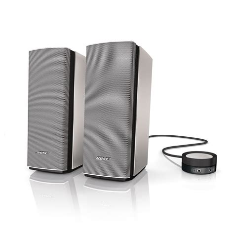 Speaker Multimedia bose companion 20 multimedia speaker system silver at