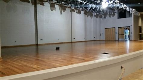 Stage Wood Flooring by Wood Floor Stages For Theater Performing Arts
