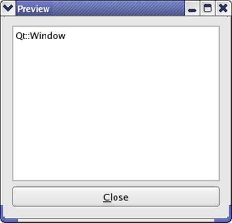 qt layout scrollbar window flags exle qt 4 8