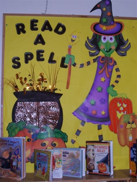 halloween reading themes 1000 images about library displays and bulletin boards on