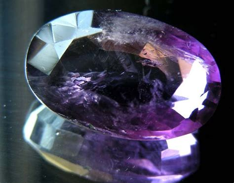 Quartz 12 81 Cts 13 81 cts amethyst gemstone faceted 11492