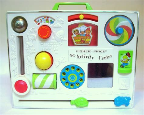 Crib Activity Board by 1973 Fisher Price Crib Activity Center Cedar Run Vintage