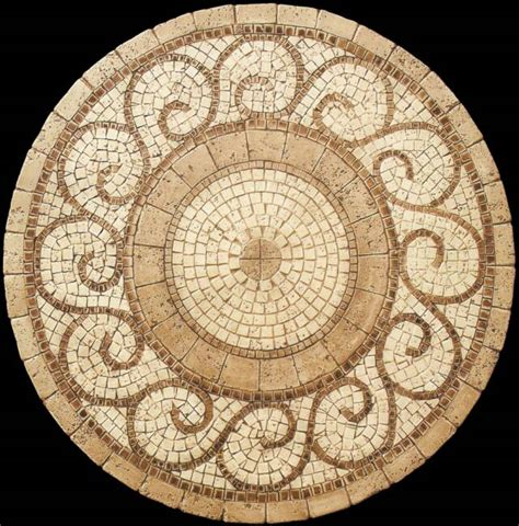 pattern for mosaic table grecia natural stone tables mosaic stone tables my