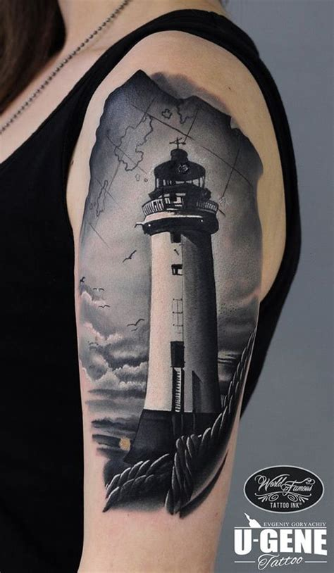 lighthouse tattoo design 25 best ideas about lighthouse tattoos on