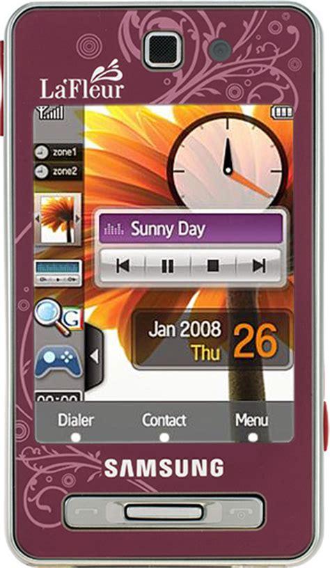 Samsung F480 La Fleur overview Z105