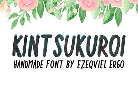 Font Handmade - free kintsukuroi handwriting font creative tacos