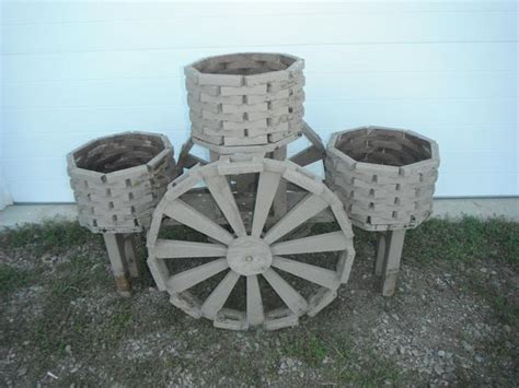 Water Wheel Planter 3 pot water wheel planter duncan cowichan mobile