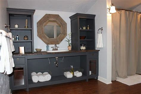 Make Your Own Vanity For The Home Pinterest Make Your Own Bathroom Vanity