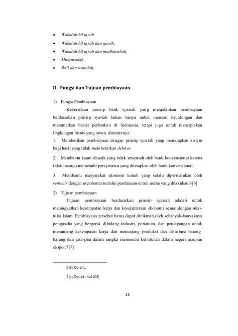 Letter Of Credit Konvensional manajemen pembiayaan bank syariah