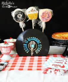 kara s party ideas retro 1950 s dad s diner father s day