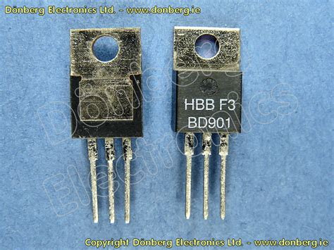 transistor darlington bd semiconductor bd901 bd 901 silicon npn darlington 100v 8a 70w tip121