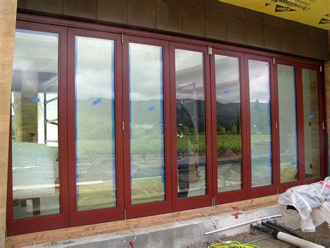 Exterior Bi Folding Doors Northstar Woodworks Custom Bi Folding Doors Craftsmanship