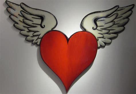 imagenes de corazones goticos con alas imagenes de corazones chidos con frases1 quotes