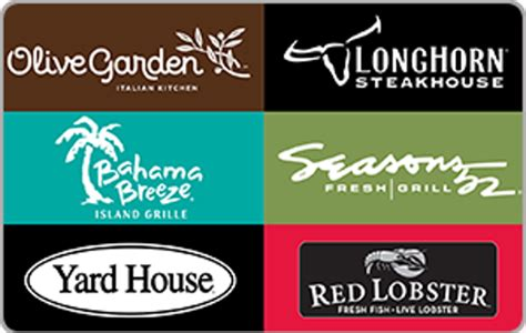 Olive Garden Gift Cards Good At - olive garden gift card good at longhorn infocard co