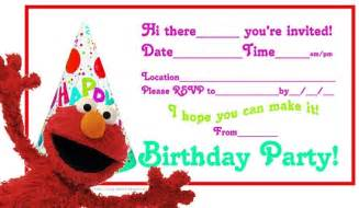 free printable elmo birthday invitations template elmo birthday invitations ideas bagvania free
