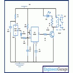 automatic wash sink automatic wash basin tap controller project circuit