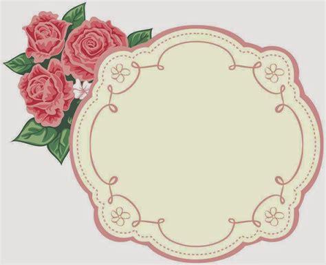 etiquetas personalizadas gratis flores marcos toppers o etiquetas para imprimir gratis