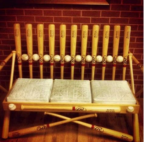 baseball benches baseball bench ideas for kids room pinterest