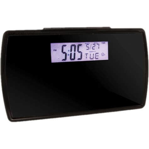 brickhouse security sleekvu alarm clock