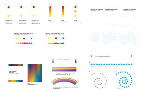 tutorial of illustrator tools 25 amazing blend tutorials in adobe illustrator on tuts